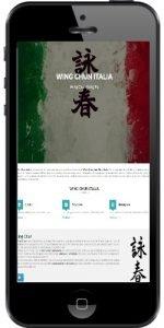 Wing Chun Italia per i dispositivi Mobile, Smartphone e Tablet, Android e iPhone